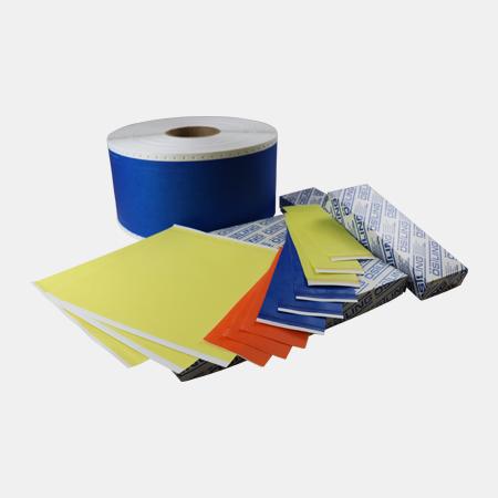 Stencil tape & paper